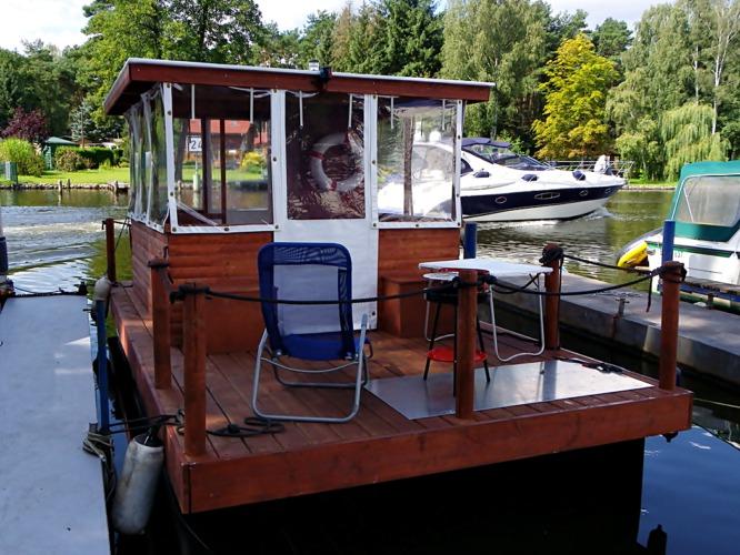 Bildmaterial zum Hausbootverleih