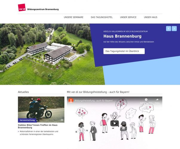 Website BIZ Brannenburg