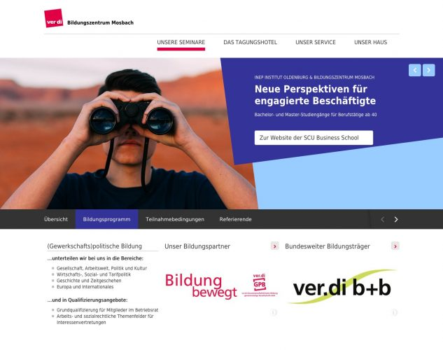 Website BIZ Mosbach