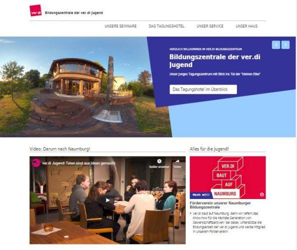 Website BIZ Naumburg