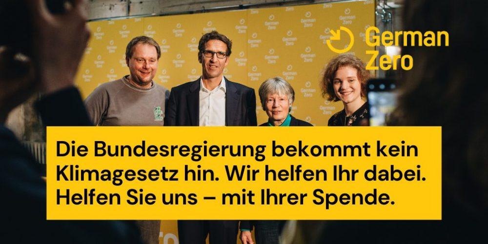 Arbeitsbeispiel Tweet, Kanal GermanZero