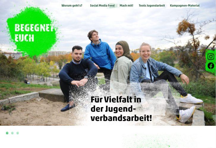 Webseite zur Kampagne