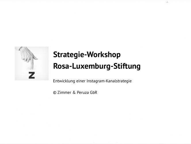 Deckblatt zum Workshop-Handout